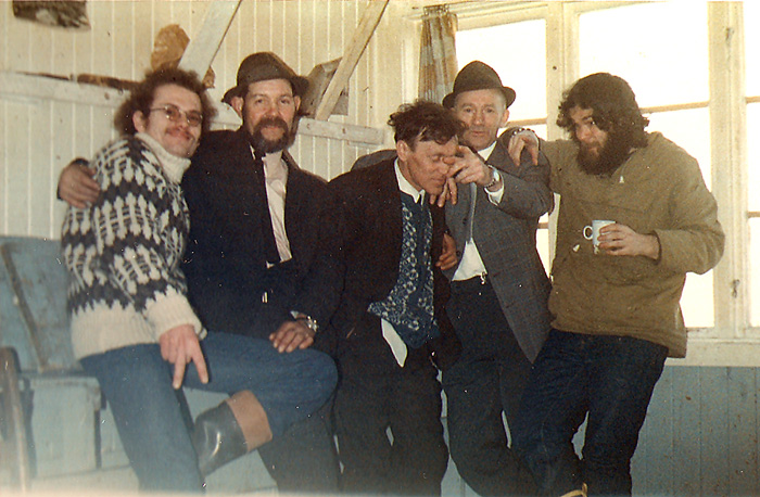 Easter 1974, Nordkapp, and a rather younger and slightly inebriated Martin